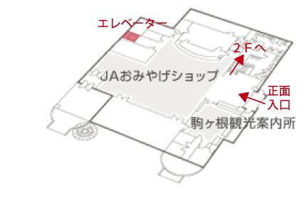 駒ヶ根ファームスマップ
